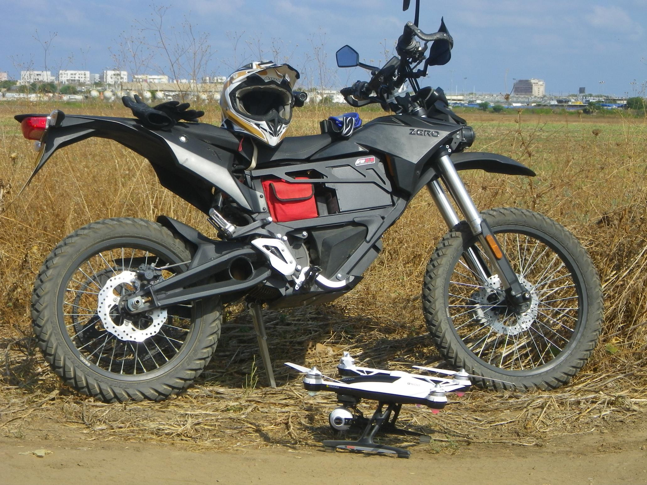 להפליא אופנוע חשמלי Zero FX AS-65